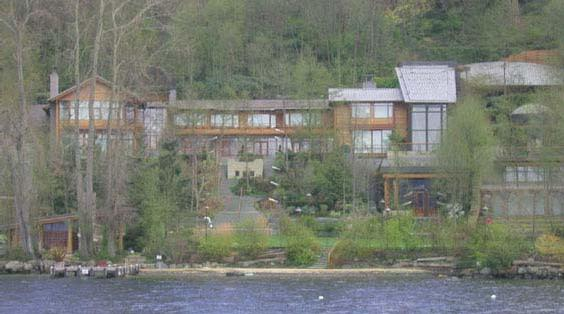 Bill Gates Residence Home Pictures