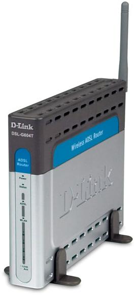 D-Link 2640T Wireless ADSL Router