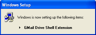 Gmail Drive Extention Hard Disk