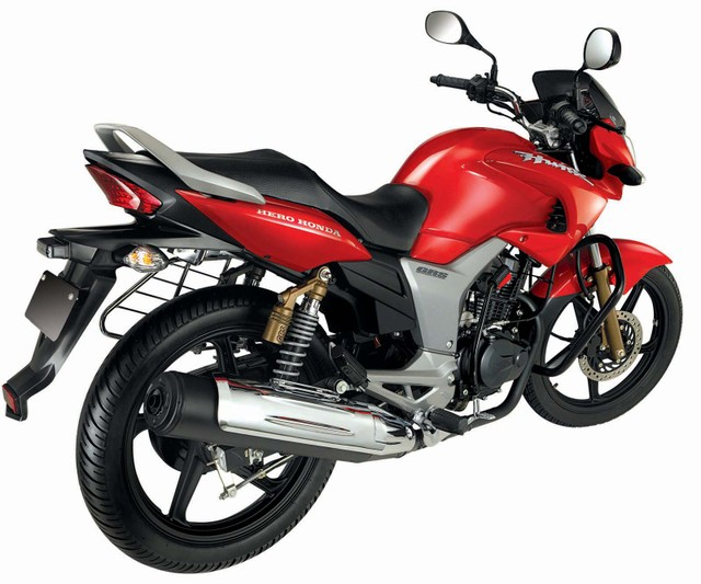 Hero Honda Hunk Red