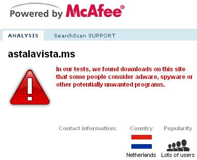 Mcafee Malware Reports