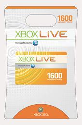 Microsoft XBox Live Points