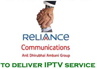 Relaince IPTV Services