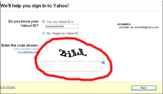 Yahoo Password Signin Help