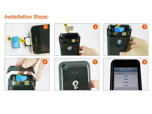 Dual Sim iPhone Installaton