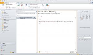 Microsoft 2010 Outlook