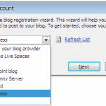 Use Microsoft Office 2010 as Blogging Tool