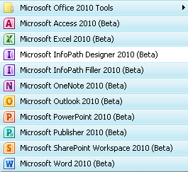 Ms Office 2010 Programs