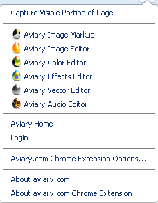 Avairy Screen Capture