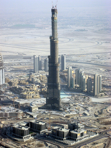 I don't know if the guy trashing me work in the worlds tallest building?