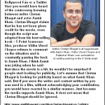 My Chetan Bhagat vs 3 Idiots Story on Mumbai Mirror