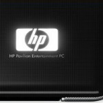 illuminated hp logo