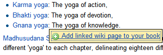 Linked Wiki Page