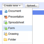 How to Create a Form using Google Docs & Embed it