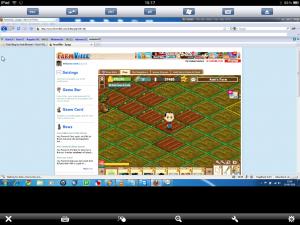 Farmville Game iPad