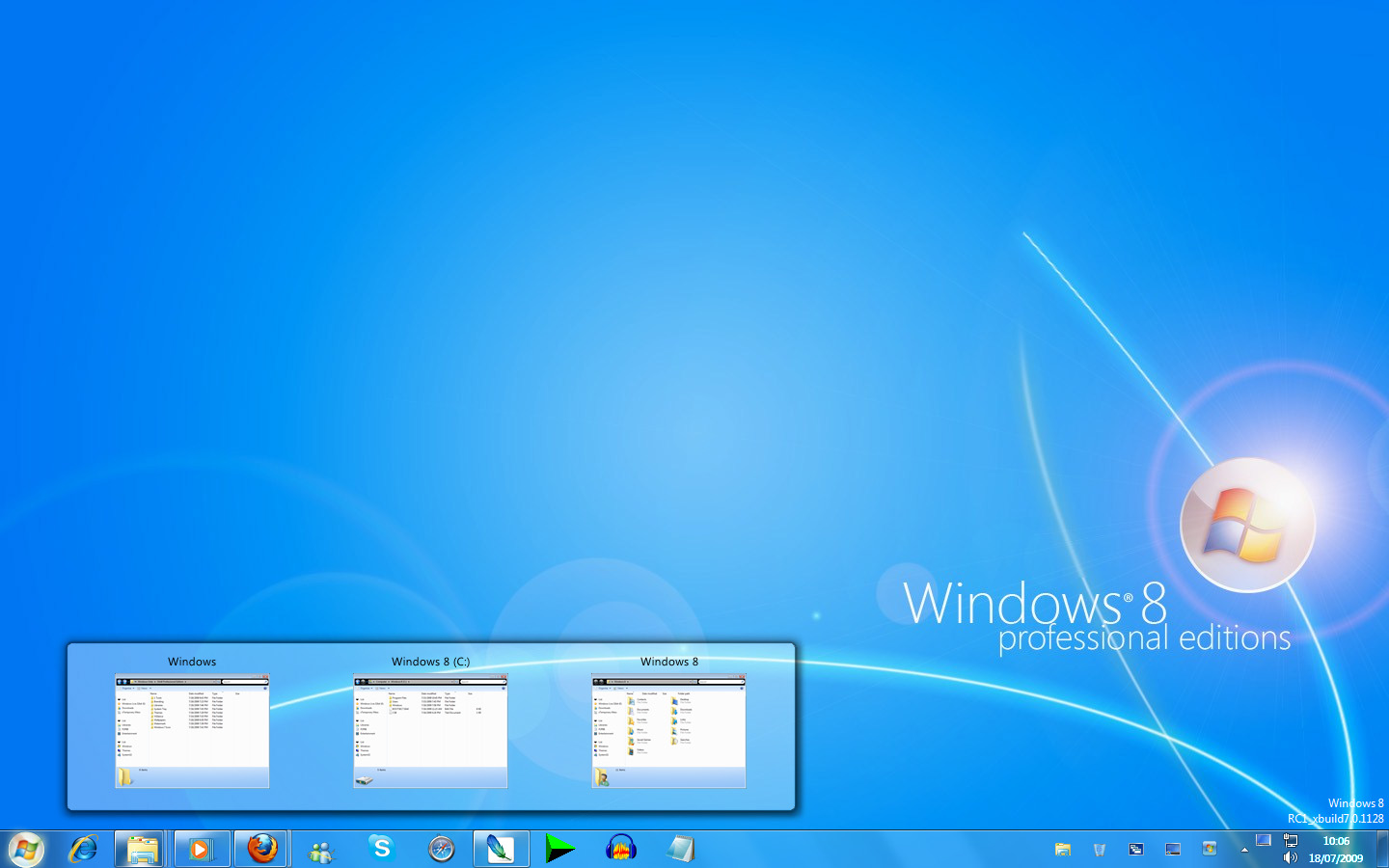 Make windows look like windows 8 with transformation pack