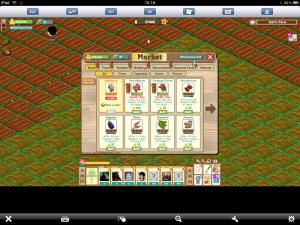 iPad Farmville Game Market