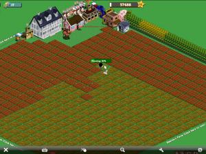 iPad Play Farmville Game
