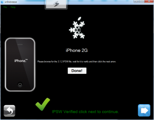 iPhone 2G ipsw Verified