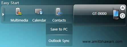 Save Contacts PC Samsung Galaxy S