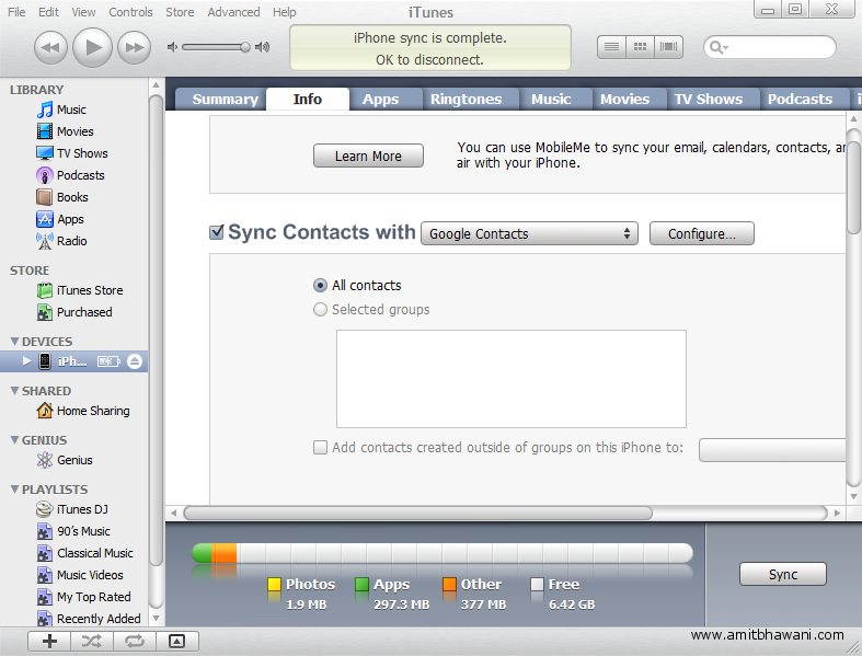 Transfer sim contacts amp sync apple iphone contacts with pc