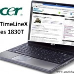 Acer TimelineX 1830T Laptop Review