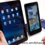 Apple iPad vs Samsung Galaxy Tab Vs Toshiba Folio 100 Vs OlivePad