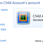 Limit Children Access to Programs & Applications in Windows 7