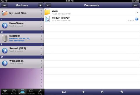 filebrowser for ipad