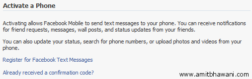 Activate Phone Facebook