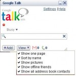 Find if your Google Talk Contacts are Offline or are in Invisible Mode?