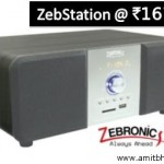 Zebronics Portable Music Player Zeb Station