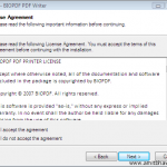 Write PDF documents from any Microsoft Windows application?