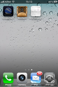 Apple iPhone HomeScreen Bootlace