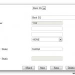 3G Data Card Settings for Huawei Data Card USB type