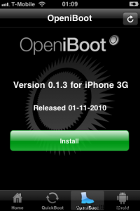 Install OpeniBoot