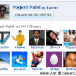 Display Twitter Followers as WordPress Blog Sidebar Widget