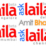 AskLaila.com Indian Search Engine on Mobile