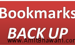 Bookmarks Backup