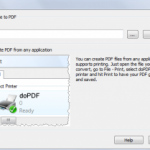 Setup Virtual PDF Printer – Print & Save any Files
