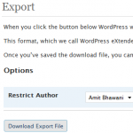How to Export/Import Blog Posts while Transfer