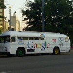 Google Bus – Creating Awareness in Internet Applications