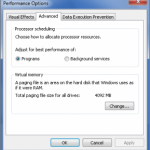 Optimize Virtual Memory in Windows 7 Automatically