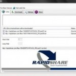 Download Multiple Rapidshare Files at Once
