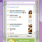 Yahoo Messenger 9.0 friend happy design