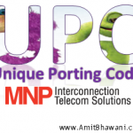 What is UPC (Unique porting Code) for MNP Process