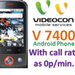 Videocon V 7400 Android phone review