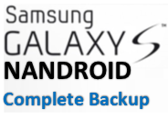 Galaxy S Nandroid