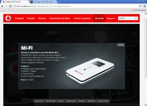 Vodafone MiFi