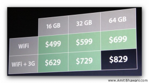 Apple iPad 2 Pricing